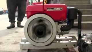 How To Manual Star ヤンマーディーゼル  Yanmar Ns60t Diesel Marine Engine (part 1)