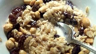 Organic Oatmeal, Raisin, Peanut Chef John The Ghetto Gourmet