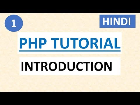 PHP Tutorial for Beginners #1 Getting Started and Introduction to PHP (For Absolute Beginners)