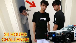 24 HOUR CHALLENGE IN DOBRE HOUSE ft LUCAS AND MARCUS (cops called)