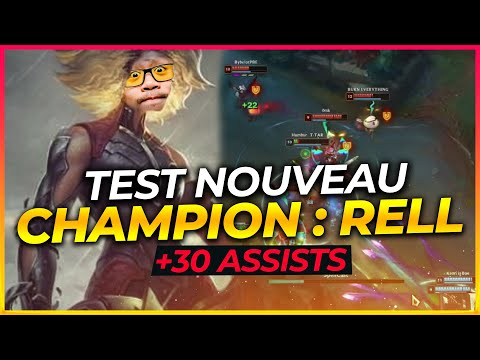 RELL GAMEPLAY FR PBE - NOUVEAU CHAMPION OP ? (League Of Legends FR)