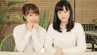 今回のMCはモーニング娘。'15石田亜佑美と、つばきファクトリー新沼希空...