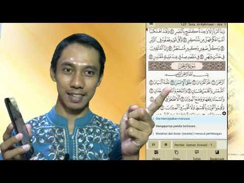 📲Aplikasi Terbaik Belajar Membaca Al Quran Di Android Secara Interaktif Audio & Visual