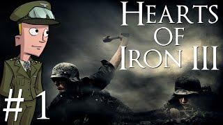Hearts of Iron 3 | Their Finest Hour | Germany | Part 1 | Setting up in '36