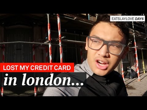 Lost My Credit Card in London... - EatSlayLove Day 6 - ohitsROME Travel Vlogs
