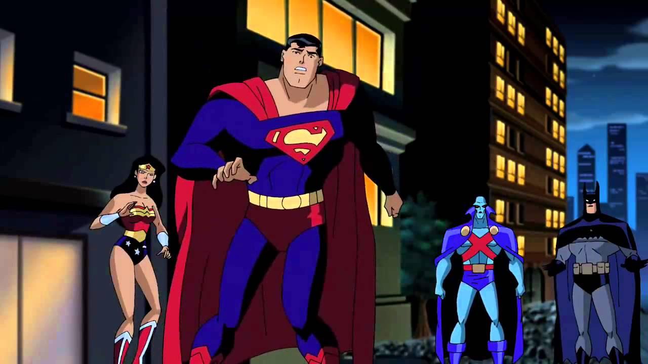 Divided We Fall Wallpaper Justice League Unlimited Season 4 Final Batle Youtube
