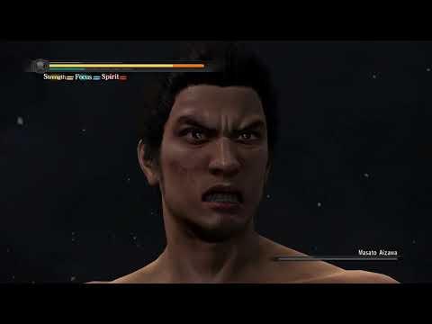 Yakuza 5 Remastered - Final boss Gets destroyed -No Damage,no weapons(from menu)no equipment,hard-NG |