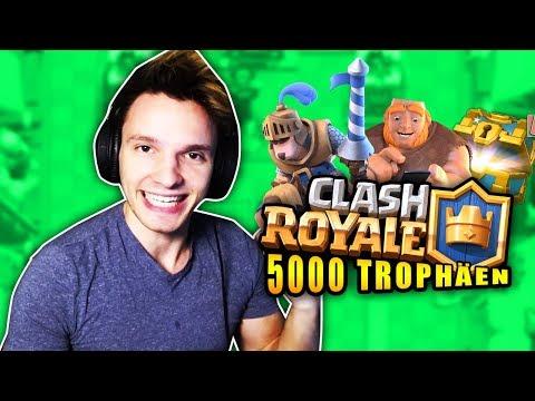 Meine REISE zu 5000 TROPHÄEN !! | Clash Royale
