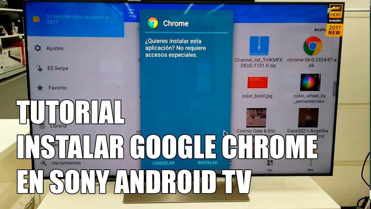 Descargar Google Chrome para Smart TV - Trucos Galaxy