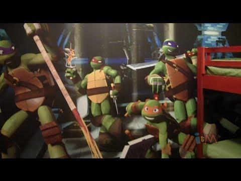 Teenage Mutant Ninja Turtles Suite Room Tour At Nick Hotel