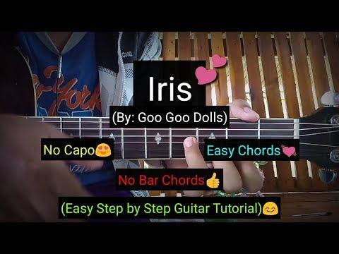 Iris - Goo Goo Dolls (Easy Chords Guitar Tutorial)