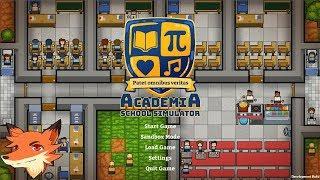 ACADEMIA : SCHOOL SIMULATOR [FR] On construit et gère une école !