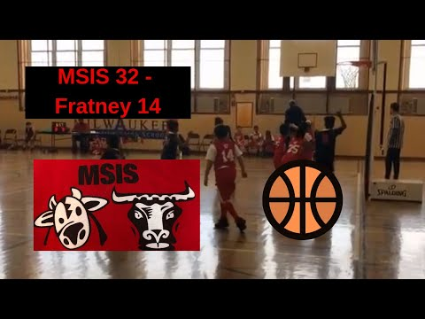 MSIS Vs Fratney Youth Basketball Full Game - Toros Win 32-14 - January 26, 2019