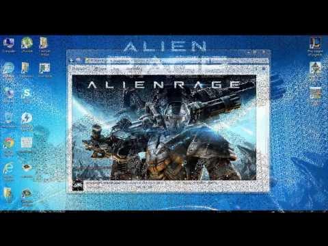 Обзор игры Alien Rage!