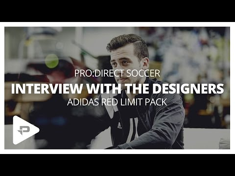 Interview With The Designers: adidas Red Limit Pack