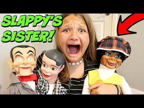 Slappy's Sister Is HERE!! Slappy Is Back With Danny! Goosebumps In Real Life!