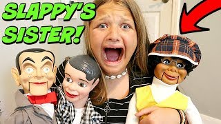 Slappy 39 s Sister Is HERE Slappy is Back with Danny Goosebumps in Real Life
