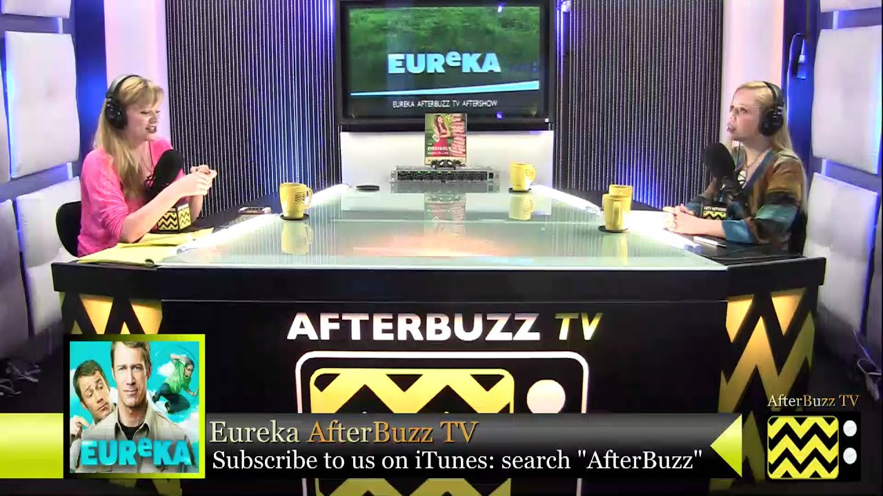 "Download Eureka  After Show  Season 5 Episode 4 "" Friendly Fire ""    AfterBuzz TV"