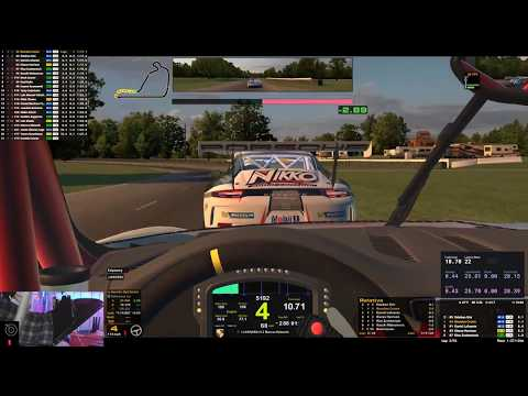 iRacing | P1 to P3, avoiding a divebombing idiot | Top Split | Porsche 911 GT3 Cup @ Summit Point