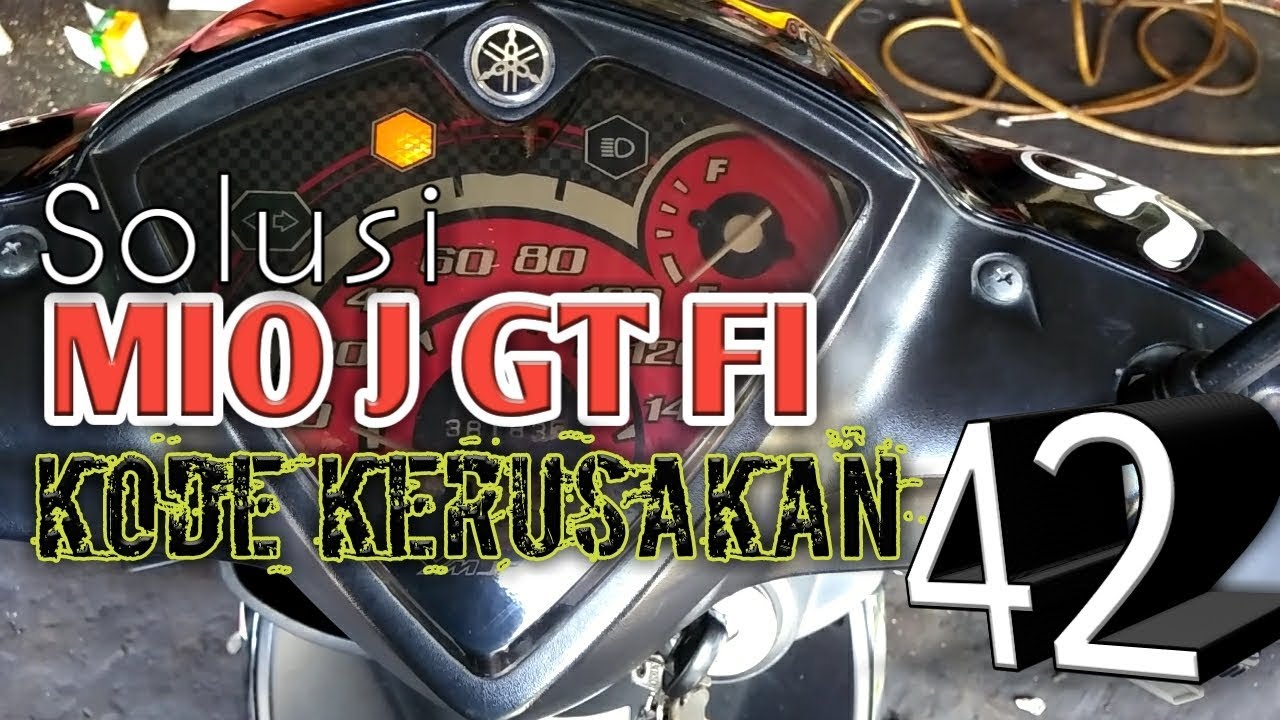 Solusi Kode 42 All Yamaha Full Injection Mio J Gt Wawan Youtube