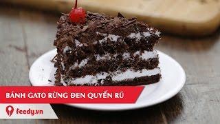 Hướng dẫn cách làm bánh gato phủ socola đầy mê hoặc - Chocolate Cake