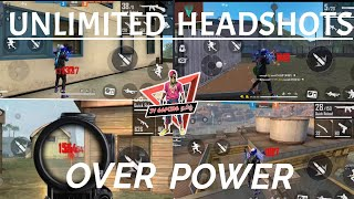 #GARENA_FREE_FIRE UNLIMED OVER POWER HEAD MONTAGE  |  JV GAMING தமிழ்