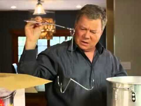 "WILLIAM SHATNER = DEEP FRIED TURKEY REMIX ""SONG"" EXTENDED VERSION"