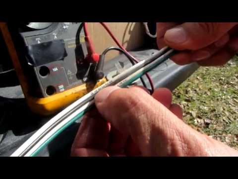 hqdefault use a multimeter to troubleshoot trailer lights part 1 youtube how to test wiring harness with multimeter at creativeand.co