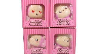 Jumbo Cheeka Squishies Unboxing Toy Review