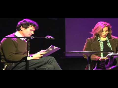 Tom Stoppard, Billy Crudup, and Margaret Colin Perform an Excerpt from