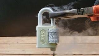 Dá pra abrir um Cadeado com Nitrogênio Líquido?