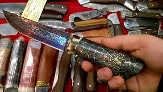 выставка охота и рыболовство на Руси , ВДНХ. ножи у алексея николаевича красота