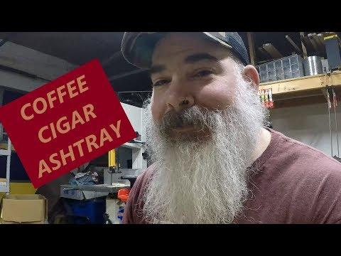 Coffee Cigar Ashtray