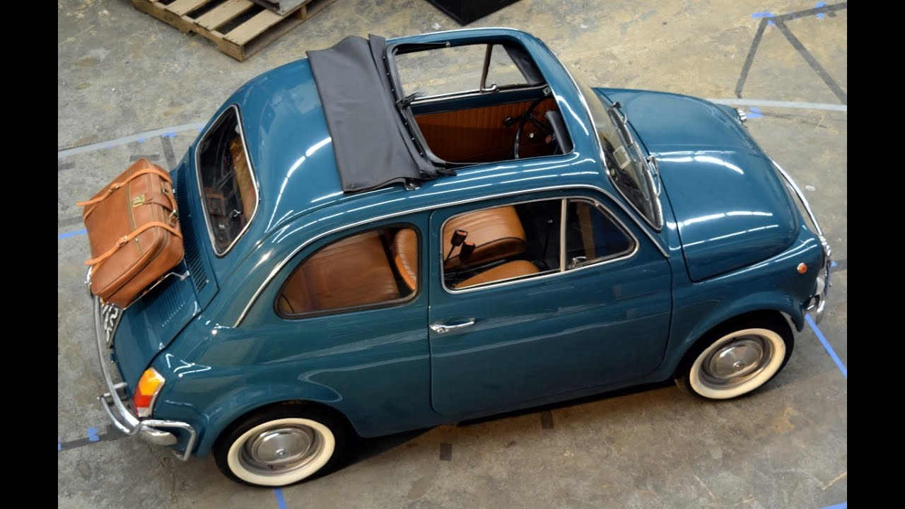 Fiat 500 For Sale >> Start Up Restored 1970 Fiat 500 For Sale! - YouTube