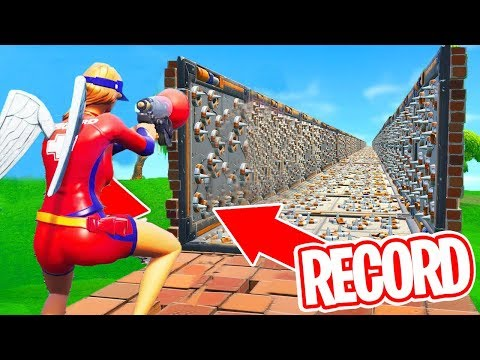 CE MEC RÉALISE UN RECORD DU MONDE SUR CE DEATH RUN ! Fortnite
