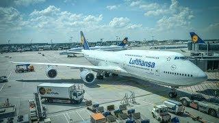 Lufthansa Boeing 747-8 / Frankfurt to Washington Dulles
