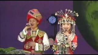 2011 hubei performers chinese folk song part 1
