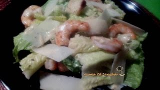 Caesar Salad ( With Shrimps)