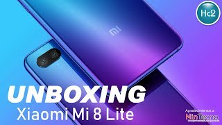 Xiaomi Mi 8 Lite - Unboxing Chile