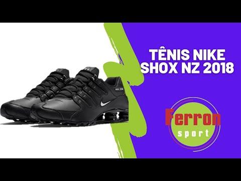 6da7307cc Conhecendo o novo Nike Shox NZ 2018 - YouTube