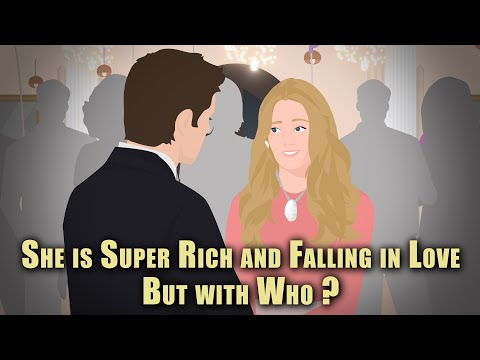 She is Super Rich & Falling in Love but with Who ? Animated Stories