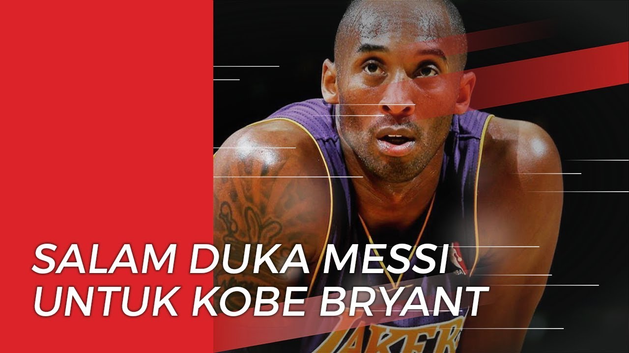 Salam Duka Dari Lionel Messi Untuk Meninggalnya Kobe Bryant