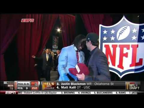 Redskins draft RG3
