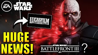 HUGE NEWS! - Loads of Star Wars Games coming! | Lucasfilm Games REVEALED!
