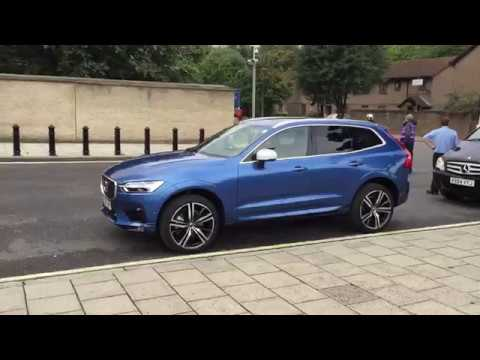 Video of new Volvo XC60 'in the wild', London, UK, August 2017, Bursting Blue - YouTube