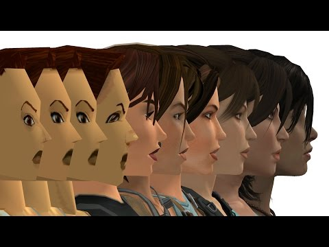 Evolution of Video Game Graphics 1962-2017