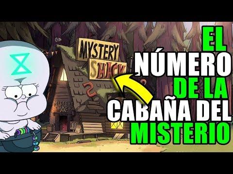 LLAMÓ A la cabaña del MISTERIO De GRAVITY FALLS | El número secreto