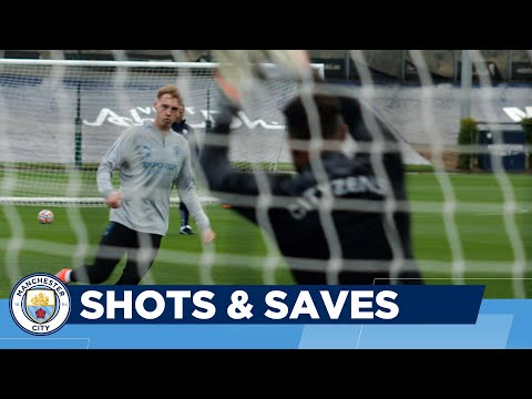 Shooting Practice | Man City Training