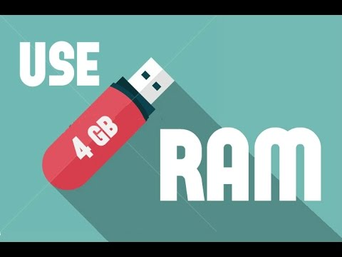 how to use pendrive as ram for gaming