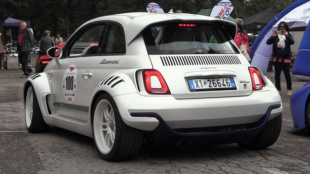 Giannini 350 Gp Rwd Fiat 500 W Alfa 4c Engine Push Rod Suspensions